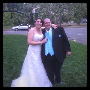 Wedding dress - worn once